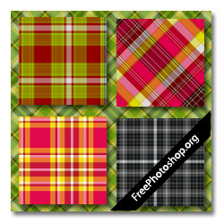 Photoshop Plaid Patterns