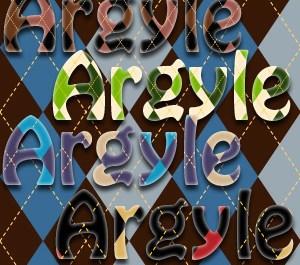 Argyle Texture Styles