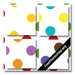 Colored Dotted Pattern