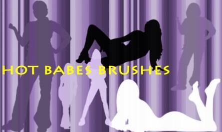 Girls Shapes Brushes