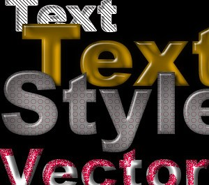 PS Text Layer Styles