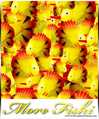 Comic Fish Pattern