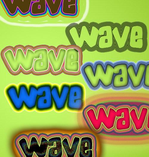 Wavy Layer Styles