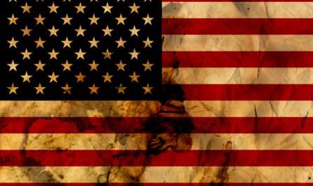 Grunge US Flag