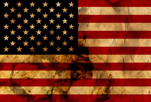 Grunge Flags