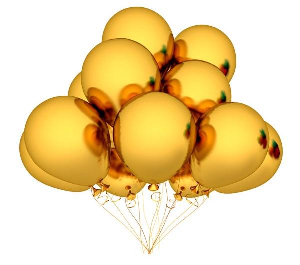 Golden Balloons – Free PSD