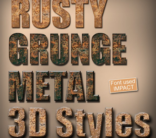 Grunge Layer styles FX