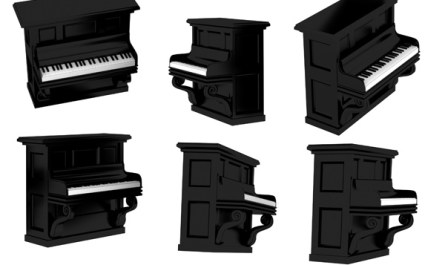 3d Piano Pictures