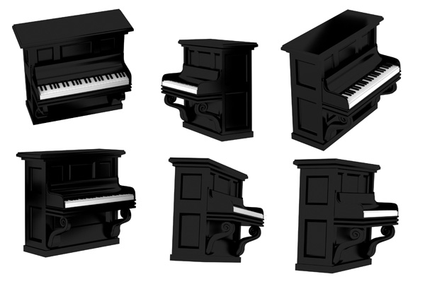 Piano Psd and Picture