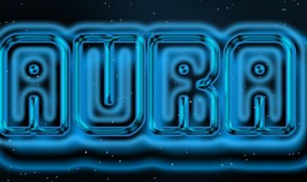 Aura Glow Text Style