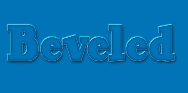 Beveled Layer Style