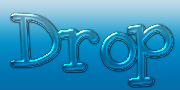 water Drop layer style