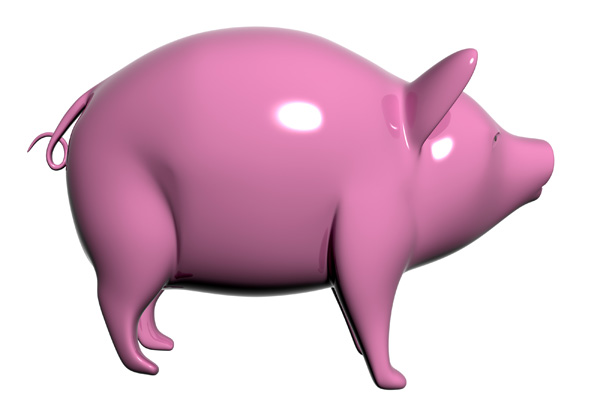 Piggy bank PSD and Picture