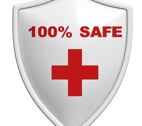 Safe Badge PSD and Picture