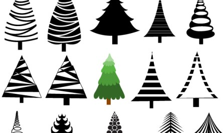 Christmas Tree Shapes and Designs