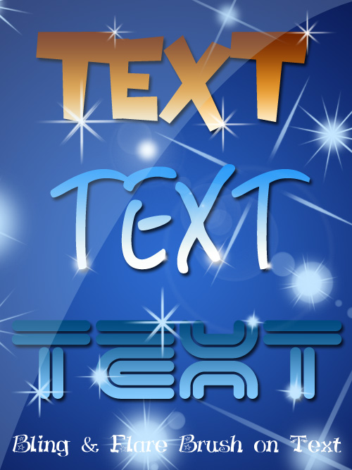 bling-effect-on-text