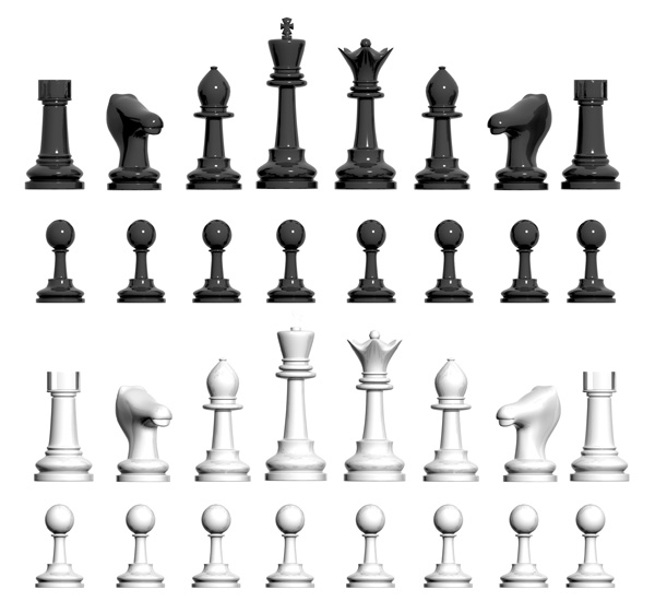 chess pawn psd