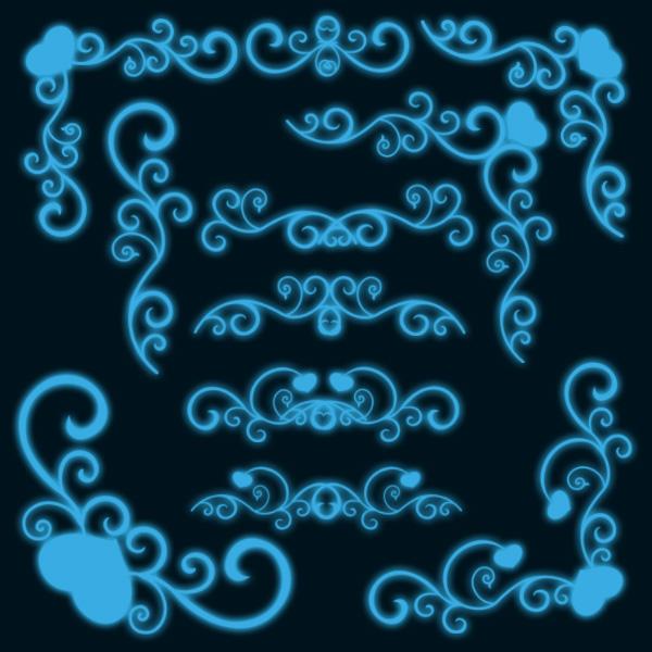 swirls corners