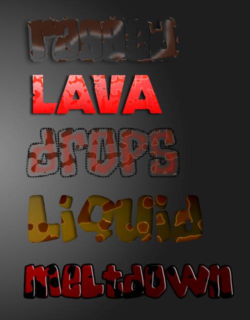 liquid layer style