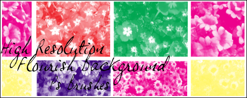 Flourish Background Brushes