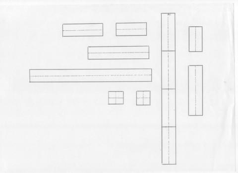 ペン字下敷き 単行