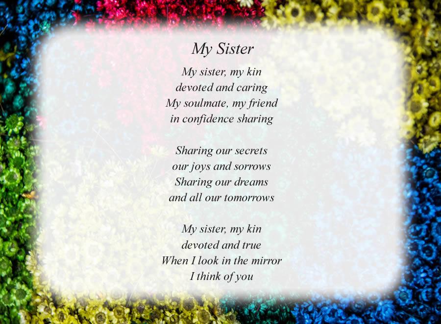 Free Sister Poems