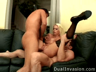 AlteredAssholes.com SiteRip - Busty Blonde Anal Fucktoy Jamie Brooks Gets Roughly Treatment By Two Guys. She Gets Big Dicks In Both Of Her Hole