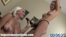 HugeStraponLesbians.com SiteRip - Those Two Ass Licking Lesbian Sluts Have Fetish For Asses And Anal Sex. Watch Them Taking Huge Strapons Up Their Gaping Assholes.