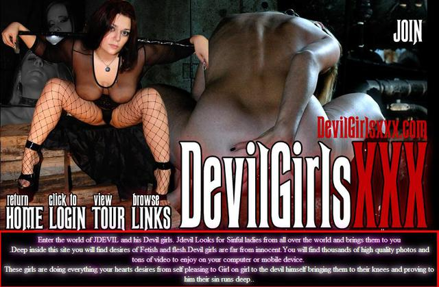 DevilGirlsXXX.com SiteRip - Enter The World Of JDevil And His Devil Girls. Deep Inside This Site You Will Find Desires Of Fetish And Flesh