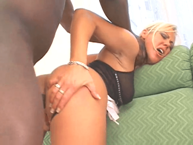 FreePornSiteRips.com - Interracial Anal - BBC Stretching Tight White Asshole