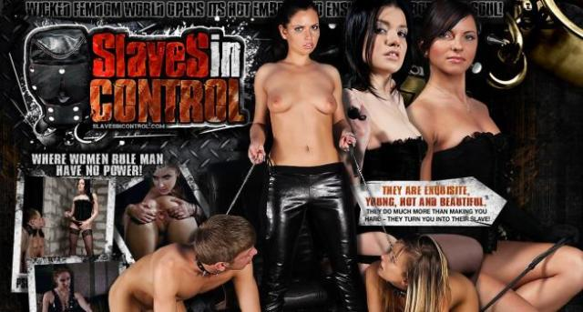 SlavesInControl.com SiteRip - Strict Mistresses Dominating Two Slaves At Once And Forcing Them To Perform All Kind Of Sexual Perversions.