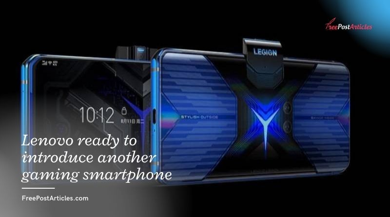 Lenovo ready to introduce another gaming smartphone