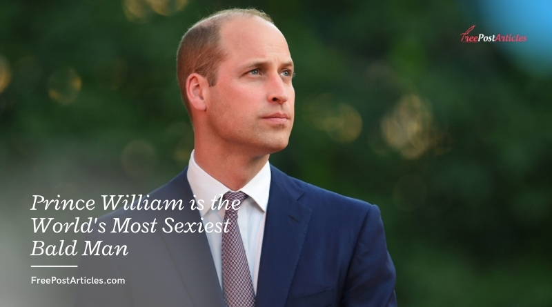 Prince William is the World's Most Sexiest Bald Man