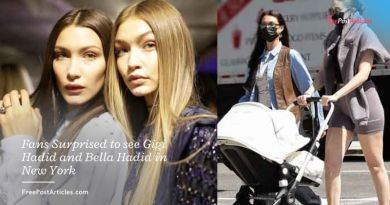 Fans Surprised to see Gigi Hadid and Bella Hadid in New York
