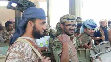 """صورة هام: قوات الحزام الأمني تعلن حرب شاملة ضد قوات """"الشرعية"""" الاخوانية"""