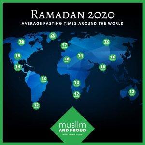 شاهد أطول وأقصر ساعات الصيام في الدول العربية فري بوست