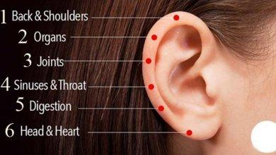 صورة لعلاج الأمراض المستعصية.. تعرف على 6 نقاط تدليك على الأذن