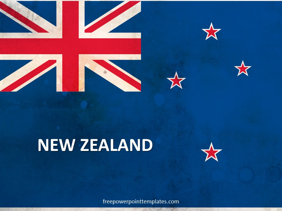 Free New Zealand PowerPoint Template