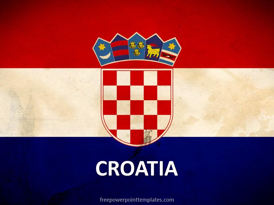 Free Croatia PowerPoint Template