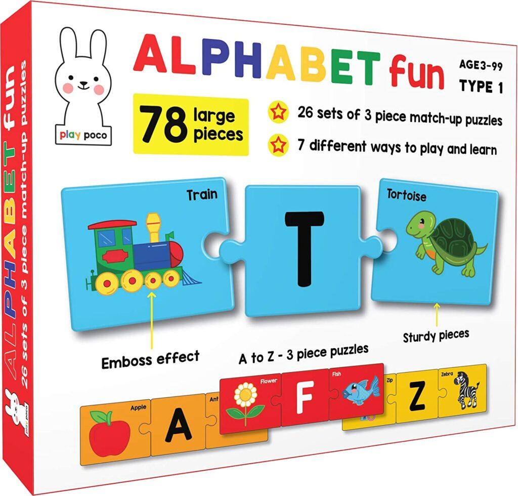 Preschool Shape Activity And Alphabet Matching Games