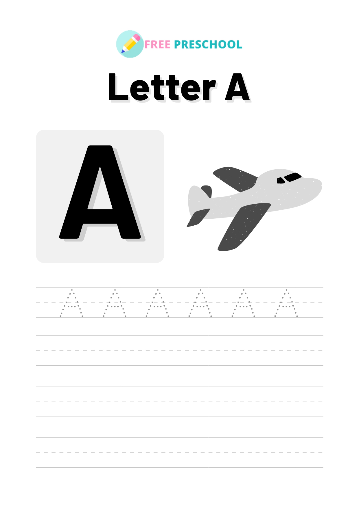 Capital Letter Tracing Worksheets Free 26 Pages