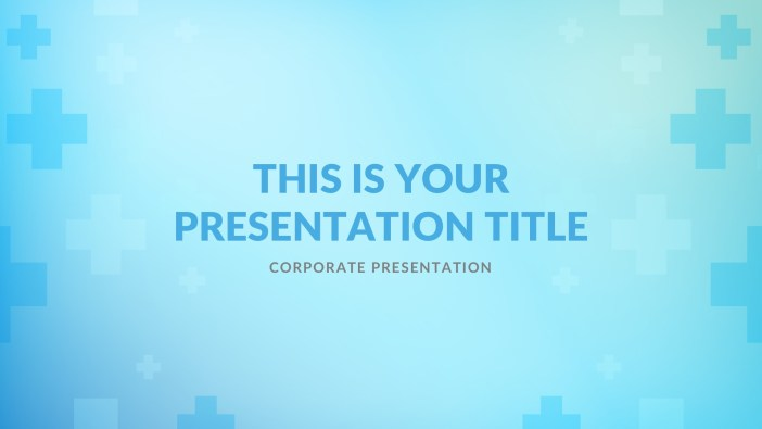 Free Medical PowerPoint, Free Keynote, Free Google Slides