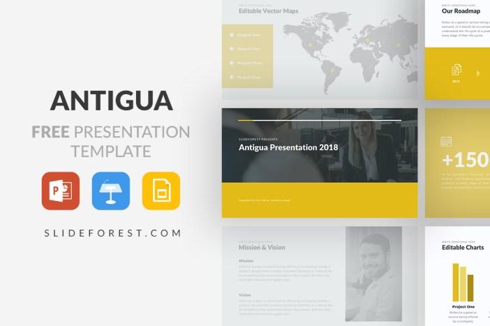Free PowerPoint Template / Free Apple Keynote / Free Google Slides