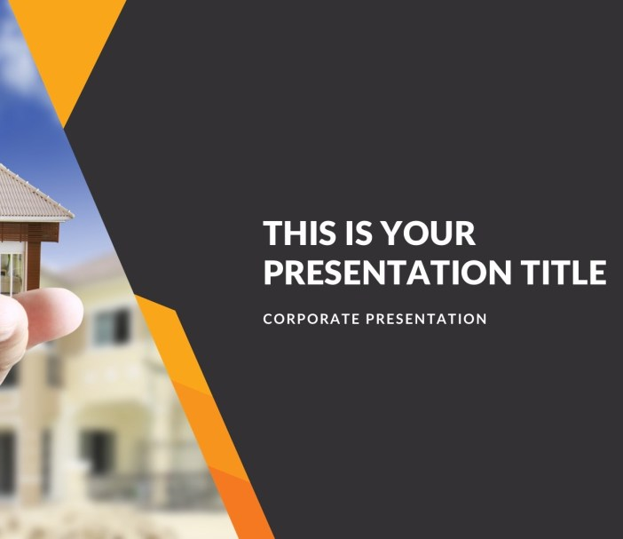 Real Estate Free Presentation Template
