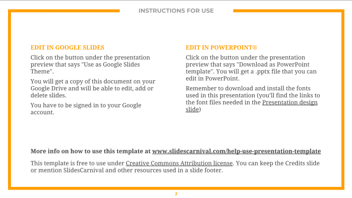 Free PowerPoint / Free Google Slides