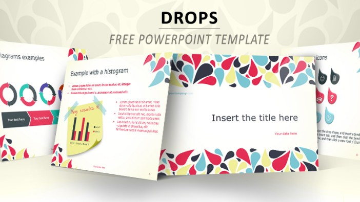 Template for PowerPoint