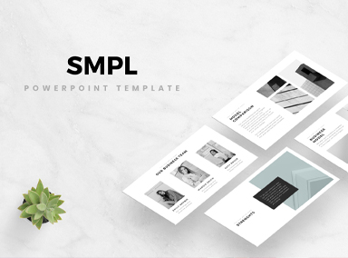 Unique Minimal PowerPoint Templates