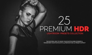 25 Premium HDR Lightroom Presets