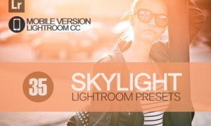 35 Skylight Lightroom Mobile bundle