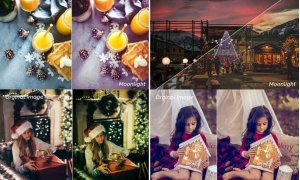 Moonlight of Christmas Lightroom Presets 3506493